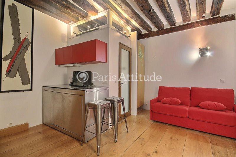 Louer Appartement meublé Studio 16m² rue Saint Honore, 75001 Paris