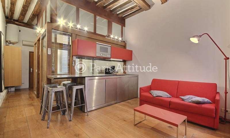 Rent Apartment 1 Bedroom 34m² rue Saint Honore, 1 Paris