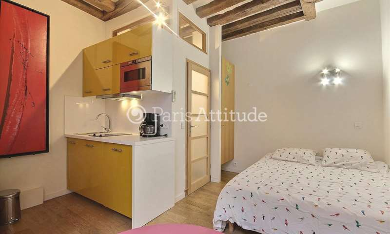 Rent Apartment Studio 17m² rue Saint Honore, 1 Paris