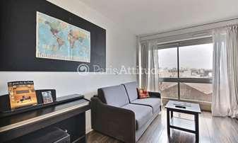 Rent Apartment 1 Bedroom 45m² villa curial, 19 Paris