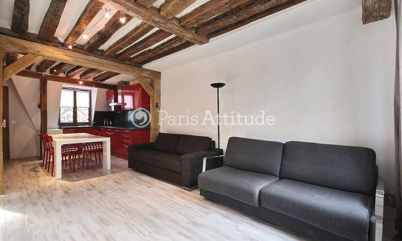 Rent Duplex 1 Bedroom 48m² rue Saint Honore, 1 Paris