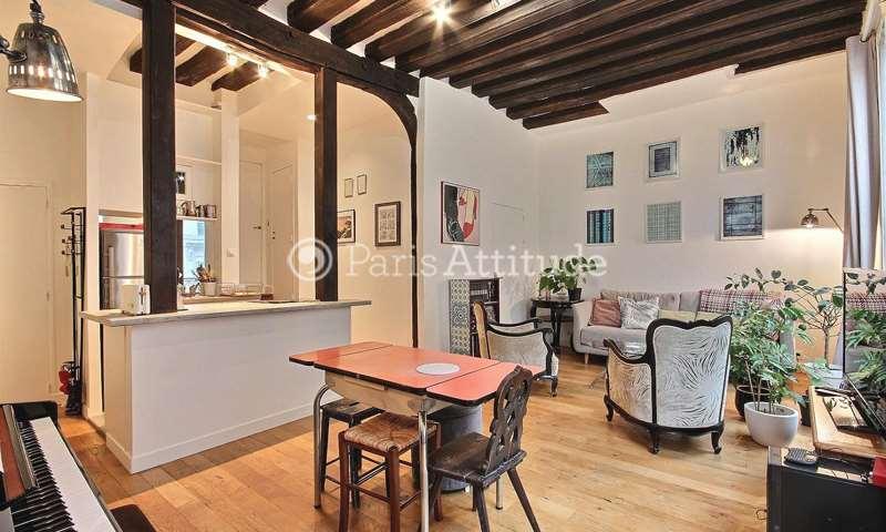Rent Apartment 1 Bedroom 59m² rue des Lombards, 1 Paris