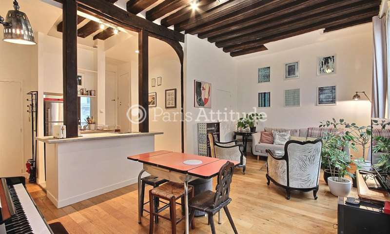 Rent Apartment 1 Bedroom 59m² rue des Lombards, 75001 Paris