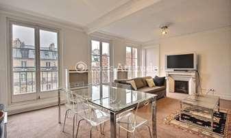 Rent Apartment 3 Bedrooms 117m² avenue Trudaine, 9 Paris