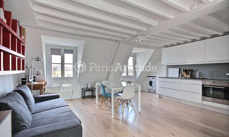 Rent Apartment 1 Bedroom 36m² rue de Turenne, 3 Paris