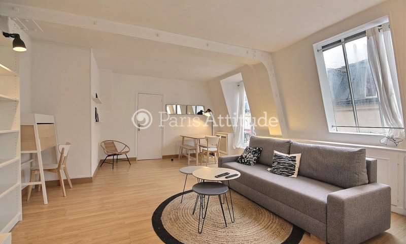 Rent Apartment 1 Bedroom 45m² rue Montgolfier, 3 Paris