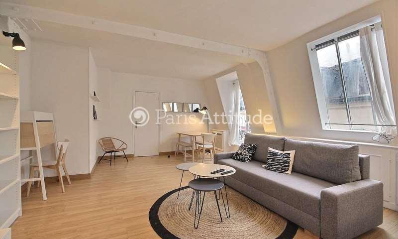 Rent Apartment 1 Bedroom 45m² rue Montgolfier, 75003 Paris