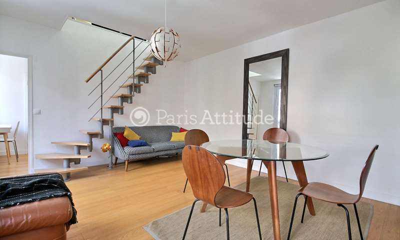 Rent Duplex 2 Bedrooms 50m² avenue du Maine, 14 Paris
