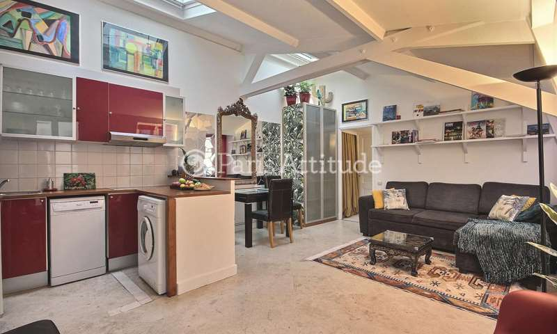 Rent Apartment 1 Bedroom 37m² rue Saint Antoine, 4 Paris