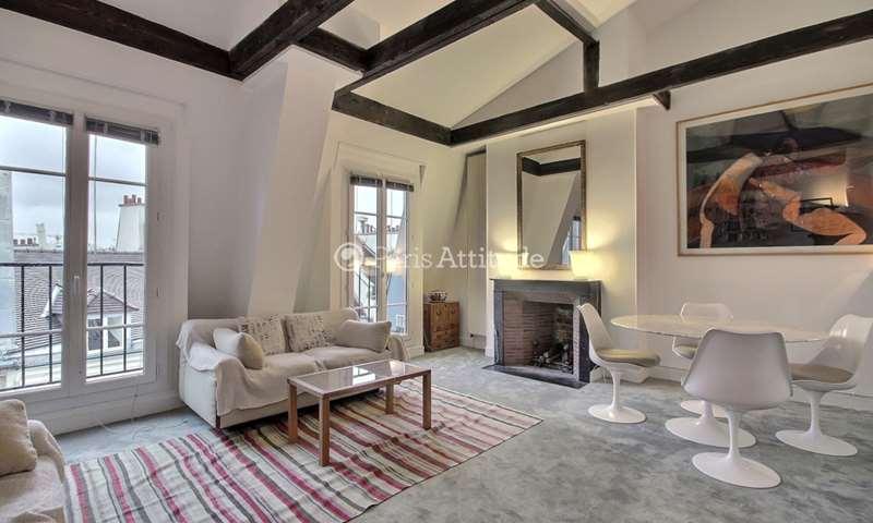 Rent Apartment 1 Bedroom 55m² rue Frederic Sauton, 75005 Paris