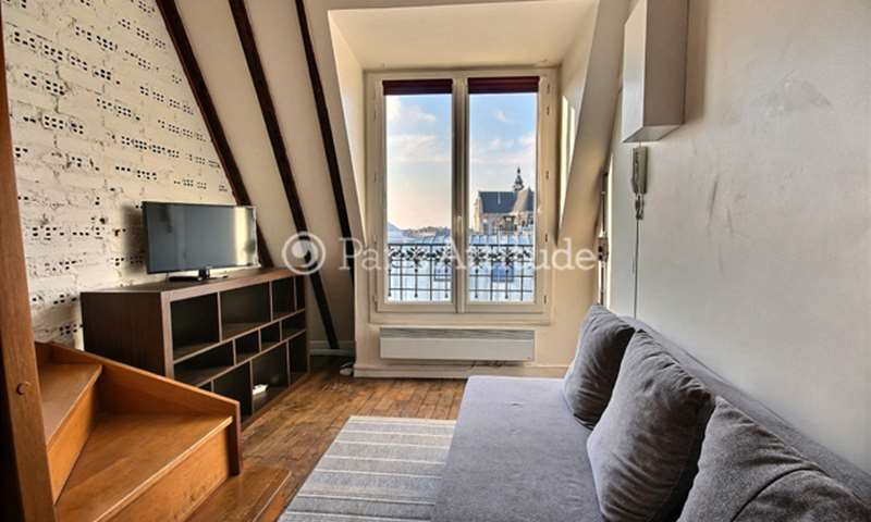 Rent Apartment Studio 21m² rue Mondetour, 75001 Paris