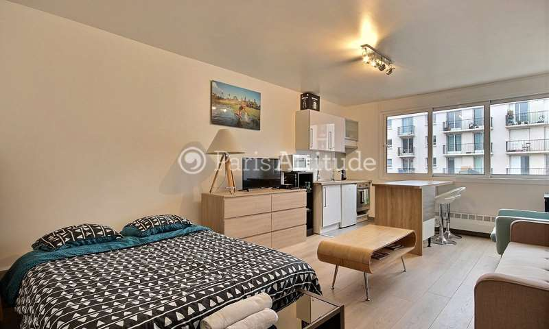 Rent Apartment Studio 28m² rue de la Grange aux Belles, 75010 Paris