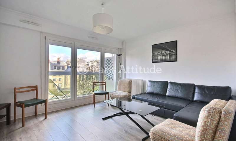 Rent Apartment 1 Bedroom 50m² Quai de la Marne, 75019 Paris