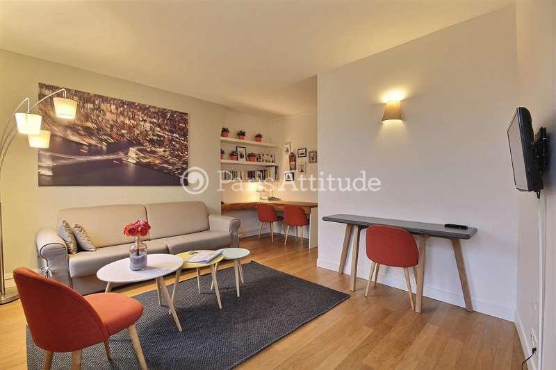 Rent furnished Apartment 1 Bedroom 40m² avenue Trudaine, 75009 Paris