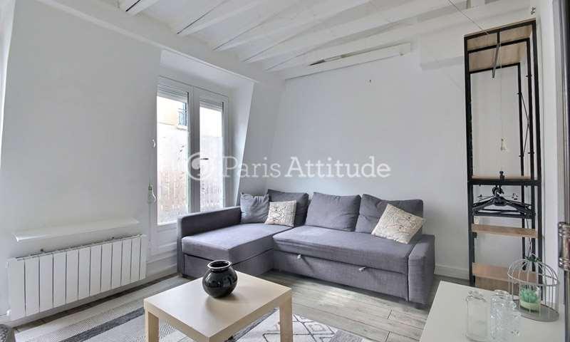 Location Appartement Studio 20m² rue du Pot de Fer, 5 Paris