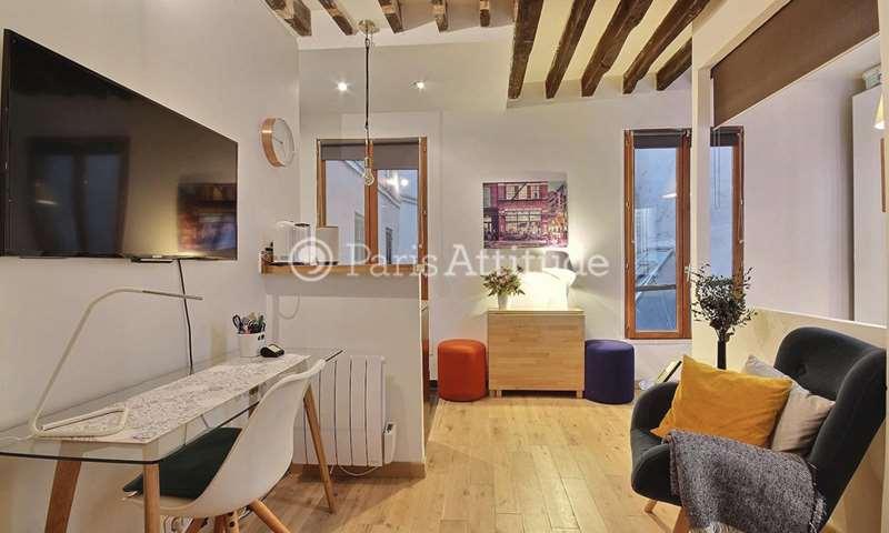 Rent Apartment Alcove Studio 22m² rue du Faubourg Saint Martin, 10 Paris