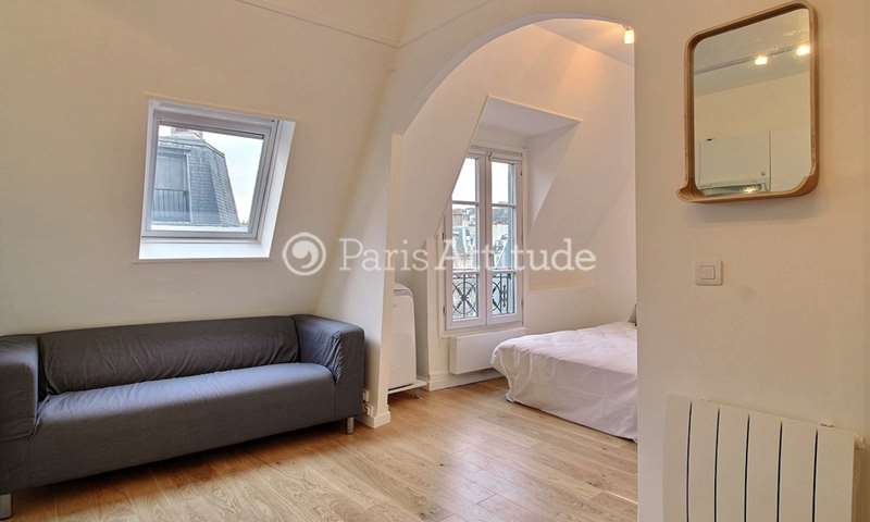 Rent Apartment Studio 23m² rue de Rochechouart, 9 Paris