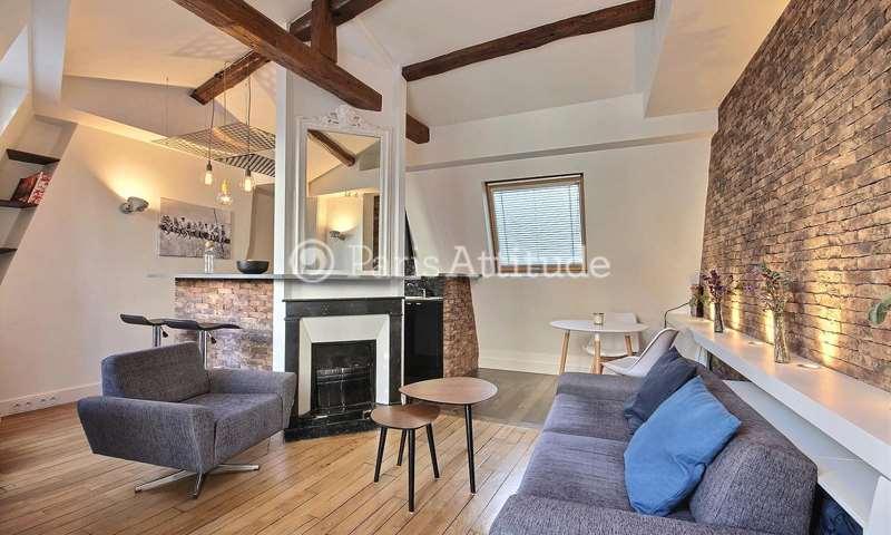 Location Duplex 1 Chambre 35m² rue Beauregard, 75002 Paris