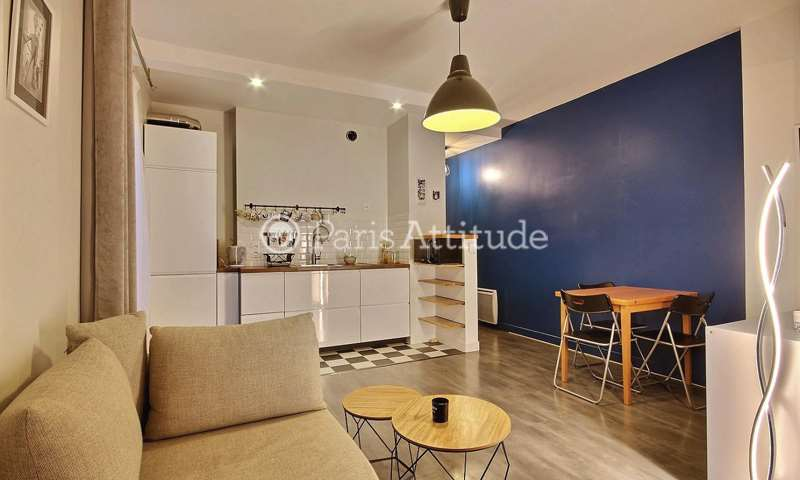 Rent Apartment Alcove Studio 31m² rue Servan, 11 Paris