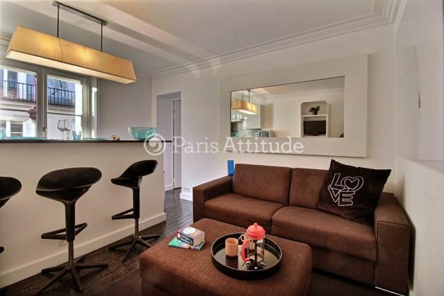 Rent Apartment 1 Bedroom 35m² rue de Rivoli, 75001 Paris
