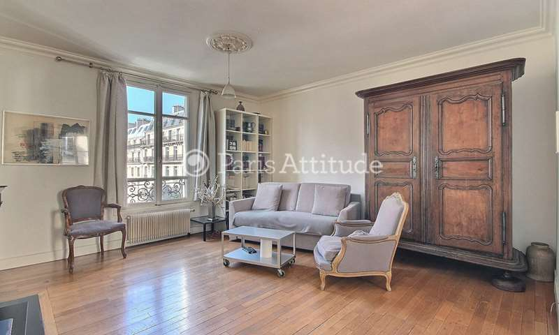 Rent Apartment 1 Bedroom 52m² rue du Rocher, 75008 Paris
