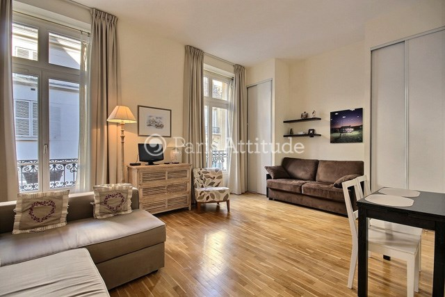 Location Appartement Studio 28m² rue de Caumartin, 75009 Paris