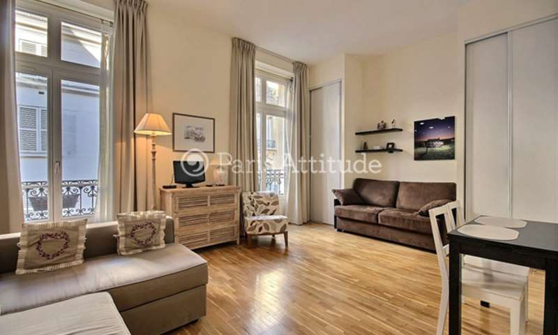 Rent Apartment Studio 28m² rue de Caumartin, 9 Paris