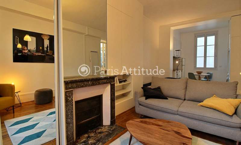 Rent Apartment Studio 35m² rue Chapon, 75003 Paris