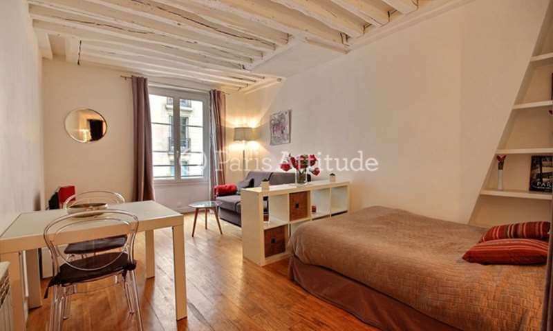 Location Appartement Studio 33m² rue Saint Jacques, 5 Paris