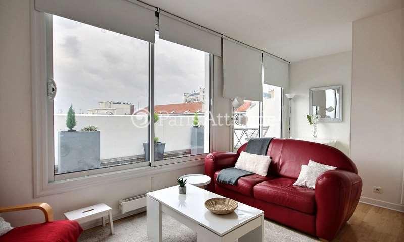 Rent Apartment Alcove Studio 30m² rue Rene Villerme, 75011 Paris