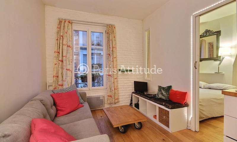 Rent Apartment 1 Bedroom 24m² rue Piat, 75020 Paris