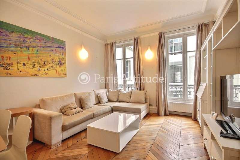Rent furnished Apartment 2 Bedrooms 70m² avenue Kleber, 75016 Paris