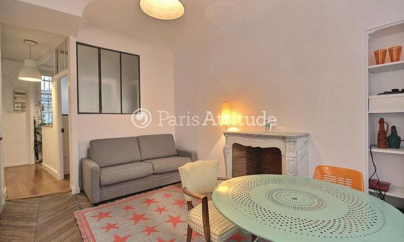 Rent Apartment 1 Bedroom 38m² rue Rene Boulanger, 75010 Paris