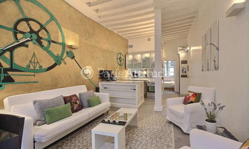 Rent Apartment 1 Bedroom 42m² rue Dupuytren, 6 Paris