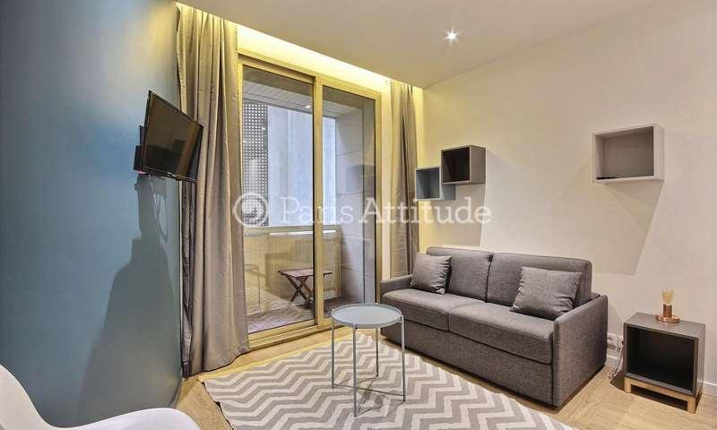 Rent Apartment Studio 16m² avenue Henri Martin, 16 Paris