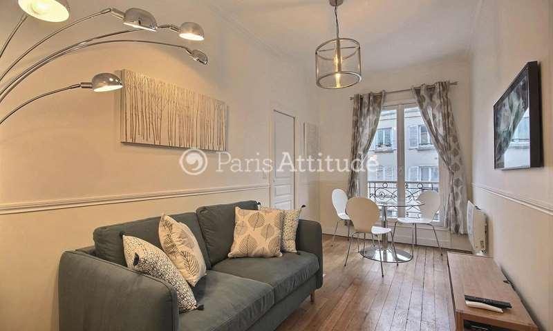 Rent Apartment 1 Bedroom 30m² rue Ferdinand Duval, 4 Paris