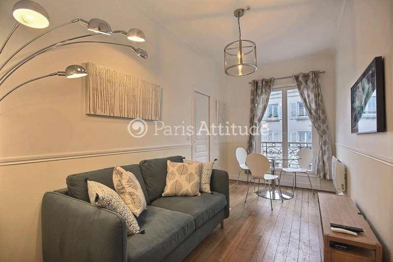 Rent furnished Apartment 1 Bedroom 30m² rue Ferdinand Duval, 75004 Paris