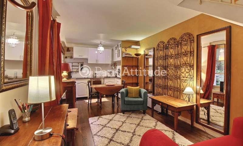 Rent Triplex 1 Bedroom 36m² rue Gutenberg, 75015 Paris