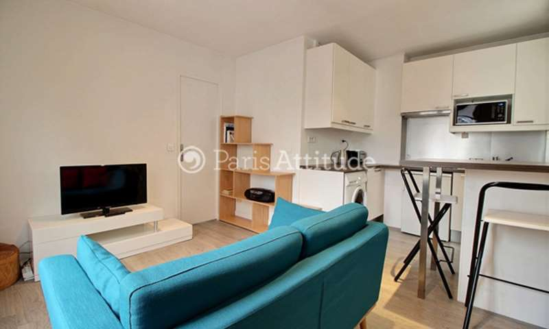 Rent Apartment 1 Bedroom 27m² rue du Chemin Vert, 11 Paris