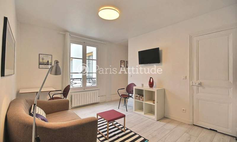 Rent Apartment 1 Bedroom 23m² rue du Foin, 75003 Paris