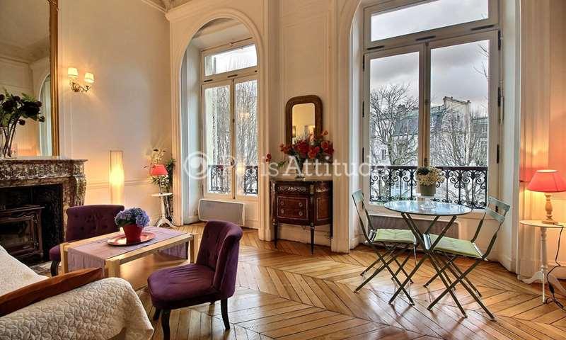 Rent Apartment 1 Bedroom 36m² rue de Liege, 75008 Paris