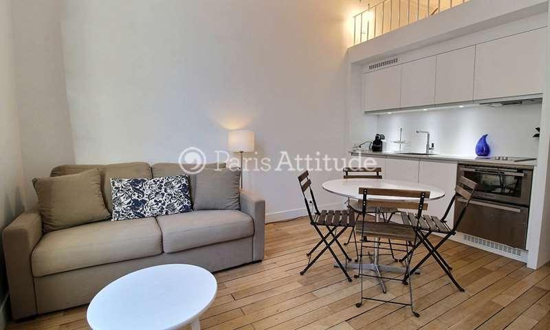 Rent Apartment Studio 20m² rue du Bac, 7 Paris