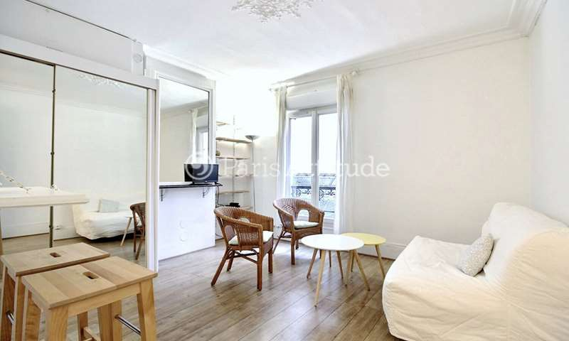 Location Appartement Studio 20m² boulevard de Clichy, 75018 Paris