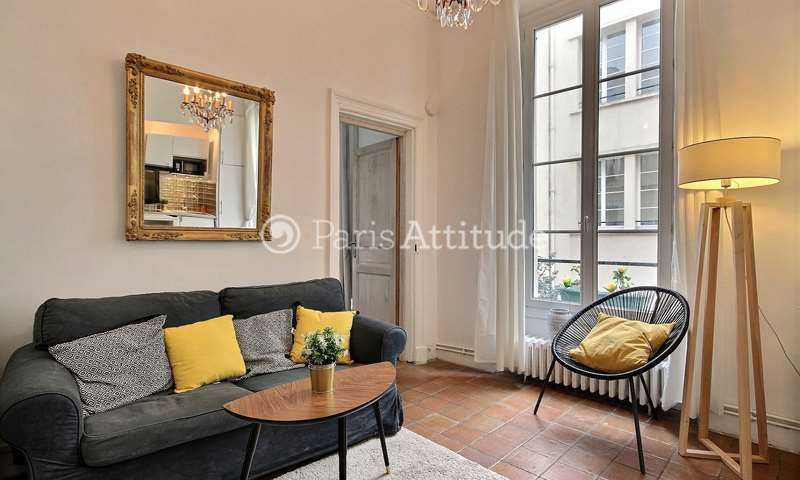 Rent Apartment 1 Bedroom 35m² rue du Vertbois, 75003 Paris
