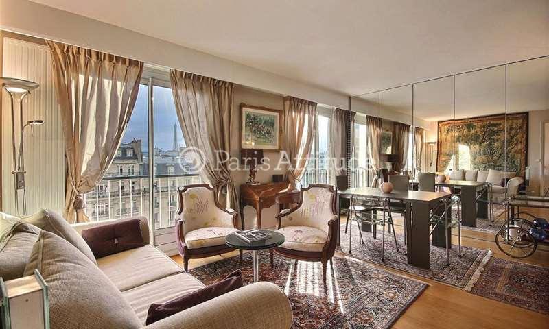 Aluguel Apartamento 1 quarto 52m² boulevard Flandrin, 75016 Paris