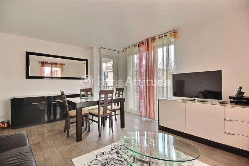 Rent furnished Apartment 2 Bedrooms 58m² rue du ménil, 92600 Asnières-sur-Seine