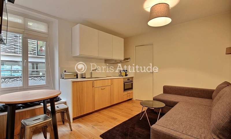 Rent Apartment 1 Bedroom 27m² rue des Bergers, 75015 Paris