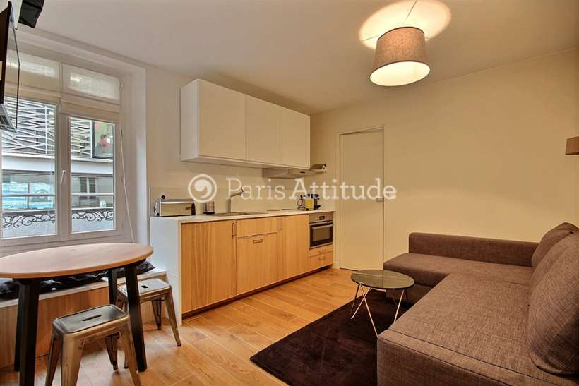 Rent furnished Apartment 1 Bedroom 27m² rue des Bergers, 75015 Paris
