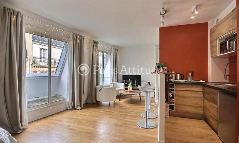 Rent Apartment Studio 27m² rue Lauriston, 16 Paris