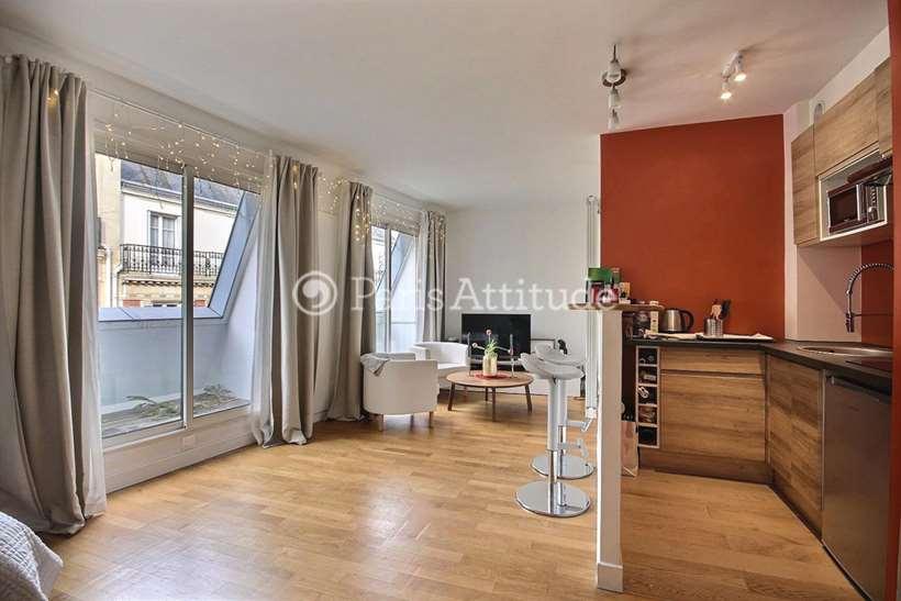 Rent furnished Apartment Studio 27m² rue Lauriston, 75016 Paris